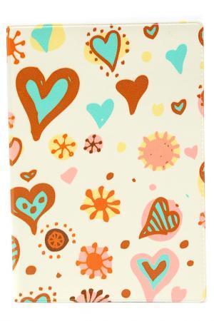 Обложка для автодокументов MITYA VESELKOV. Цвет: молочный