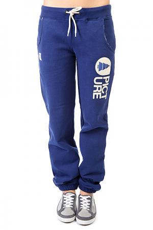 Штаны прямые женские  Cocoon 2 Pants Dark Blue Picture Organic. Цвет: синий