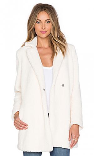 Шерстяное пальто marise MKT studio. Цвет: кремовый
