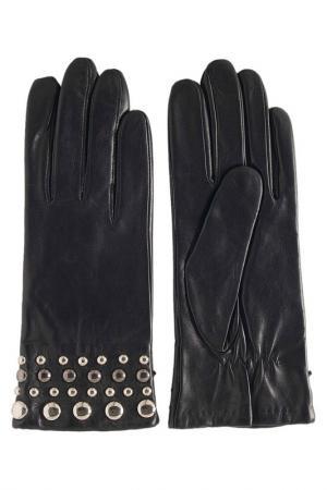 Перчатки GLOVE STORY. Цвет: черный