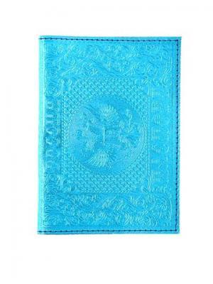 Обложка для паспорта NeKi. Цвет: голубой