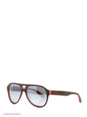 Очки солнцезащитные LM 548S 03 La Martina. Цвет: красный, черный