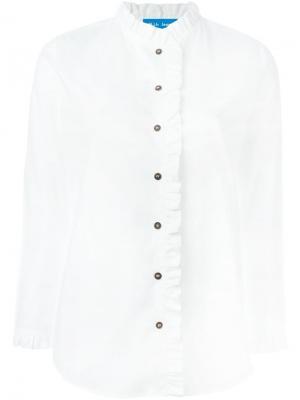 Рубашка Laing Mih Jeans. Цвет: белый