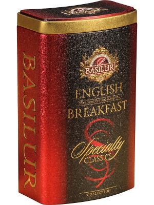 Чай Basilur ИЗБРАННАЯ КЛАССИКА  Английский завтрак. Цвет: черный