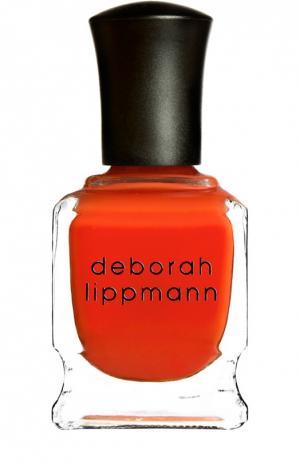 Лак для ногтей Dont stop Believin Deborah Lippmann. Цвет: бесцветный
