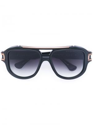 Солнцезащитные очки Grandmaster Dita Eyewear. Цвет: чёрный