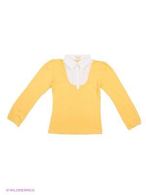 Блузка DAMY-M. Цвет: желтый