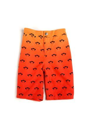 Шорты Appaman. Цвет: оранжевый