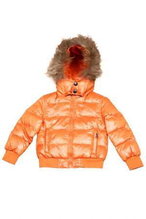Куртка FUN. Цвет: оранжевый
