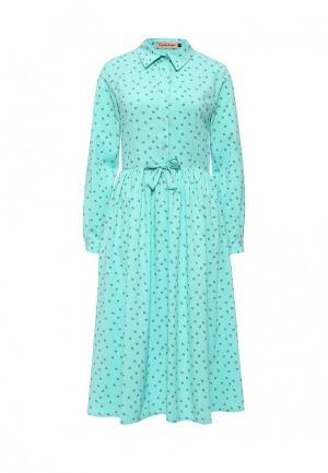 Платье TrendyAngel. Цвет: бирюзовый
