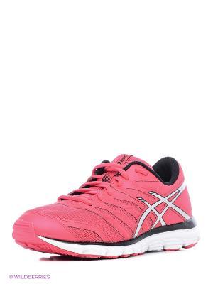 Кроссовки GEL-ZARACA 4 ASICS. Цвет: розовый, серый, черный