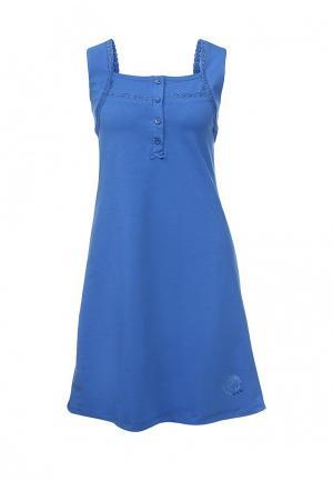 Сорочка ночная Relax Mode. Цвет: синий