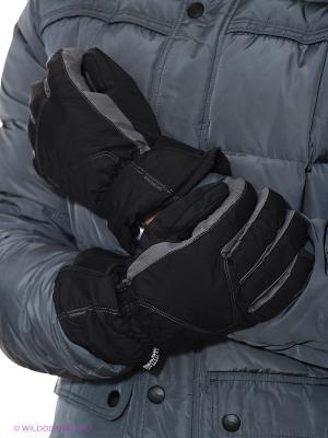 Перчатки Catmandoo. Цвет: черный