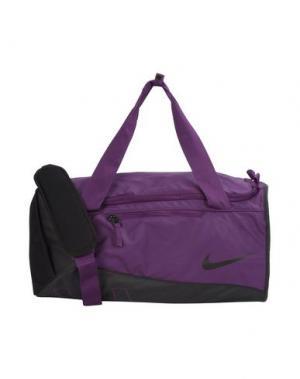 Дорожная сумка NIKE. Цвет: фиолетовый