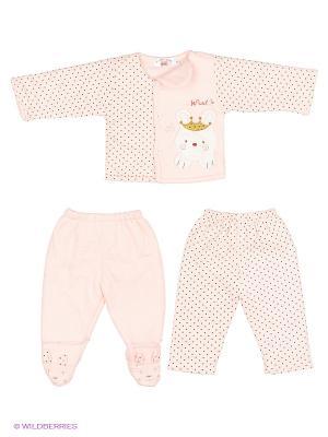 Комплект одежды Happy Bear. Цвет: розовый