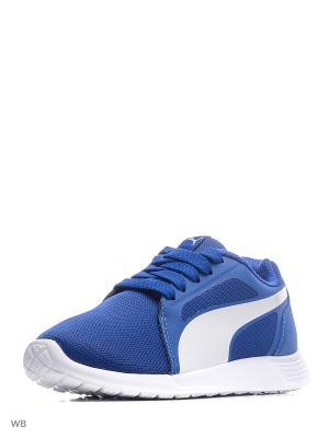 Кроссовки ST Trainer Evo PS Puma. Цвет: синий, белый