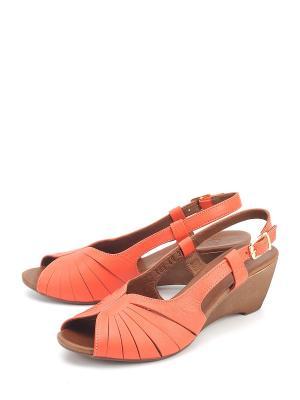 Босоножки SPECTRA. Цвет: оранжевый