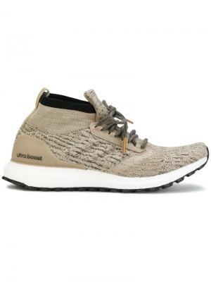 Кроссовки UltraBOOST All Terrain Ltd Adidas. Цвет: телесный