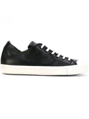 Кеды на шнуровке Philippe Model. Цвет: чёрный