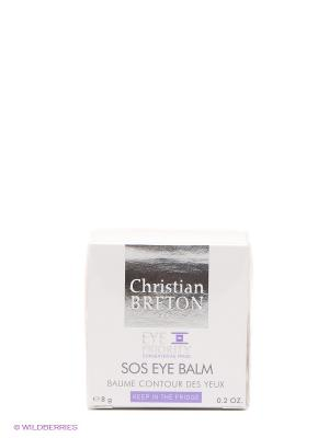 Бальзам для контура глаз СОС 8г Christian Breton Paris. Цвет: белый