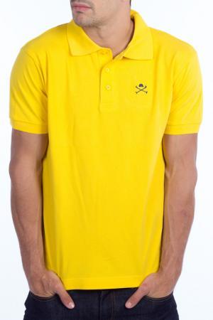 Футболка-поло POLO CLUB С.H.A.. Цвет: желтый