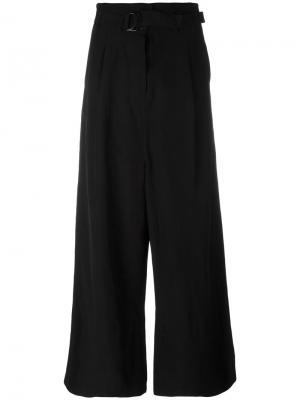 Широкие брюки Christian Wijnants. Цвет: чёрный
