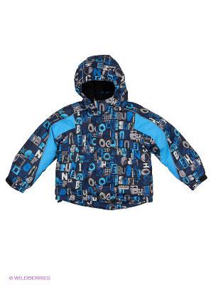 Куртка для мальчика Cherubino. Цвет: темно-синий, темно-серый