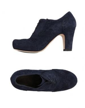 Обувь на шнурках MAURON. Цвет: темно-синий