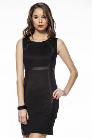 Платье Aseton. Цвет: черный