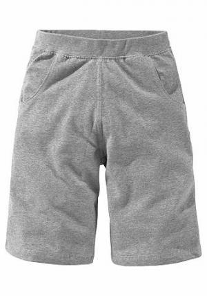 Трикотажные шорты, CFL. Цвет: серый меланж