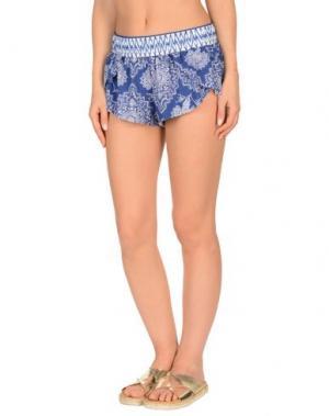 Пляжные брюки и шорты RIPCURL. Цвет: синий