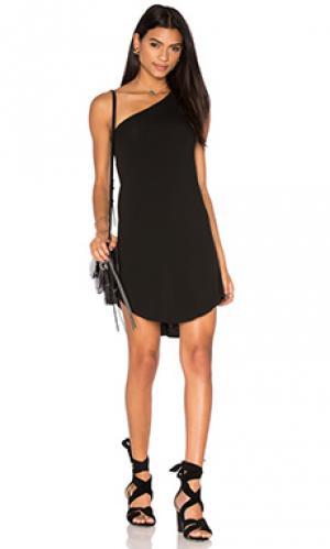 Платье skip Riller & Fount. Цвет: черный