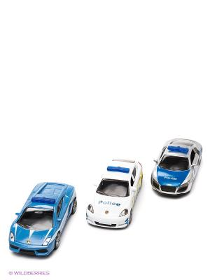 Набор Полицейские машинки SIKU. Цвет: синий