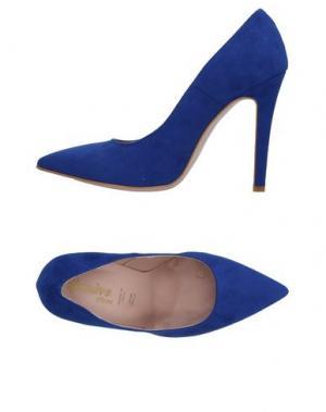 Туфли GENEVE. Цвет: ярко-синий