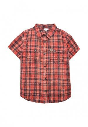 Рубашка 3 Pommes. Цвет: красный