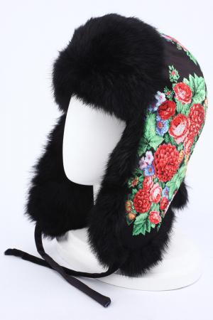 Шапка-ушанка Romax. Цвет: черный