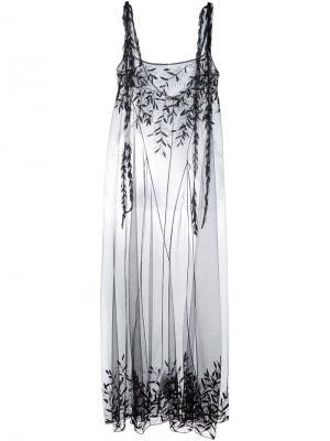 Платье Anita Attico. Цвет: чёрный