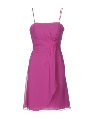 Платье до колена VENUS. Цвет: розовато-лиловый