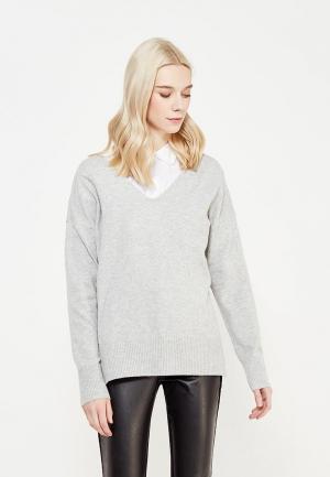 Пуловер French Connection. Цвет: серый