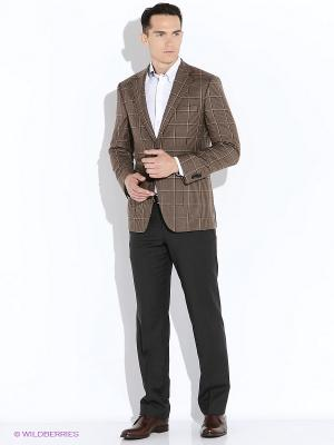 Пиджак VINCHI. Цвет: коричневый, бежевый