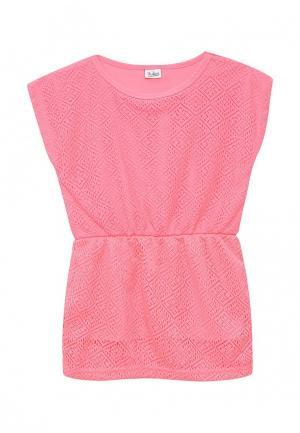 Платье Blukids. Цвет: розовый