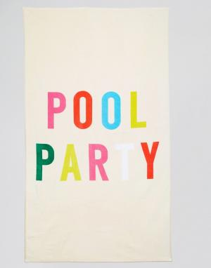 BAN DO Пляжное полотенце Ban.Do Pool Party. Цвет: мульти