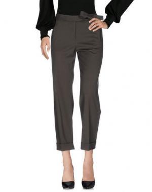 Повседневные брюки MAURO GRIFONI. Цвет: зеленый-милитари