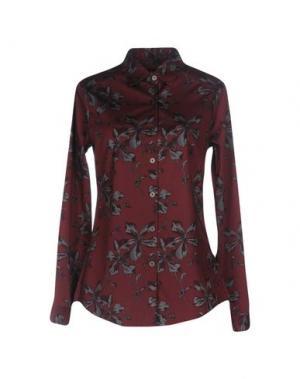 Pубашка SAMANTHA SUNG. Цвет: баклажанный