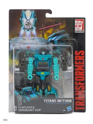 Трансформеры дженерэйшнс: войны титанов дэлюкс Transformers. Цвет: лазурный, антрацитовый, голубой