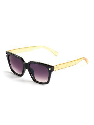 Солнцезащитные очки Selena. Цвет: черный, желтый