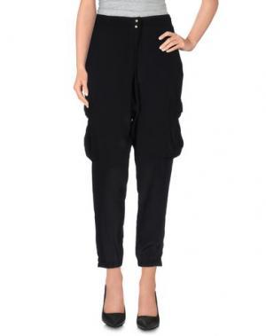 Повседневные брюки E-GÓ. Цвет: черный