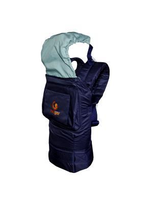 Рюкзак-переноска TIGger с капюшоном TIGger.. Цвет: синий