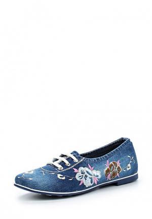 Ботинки Bigtora. Цвет: синий