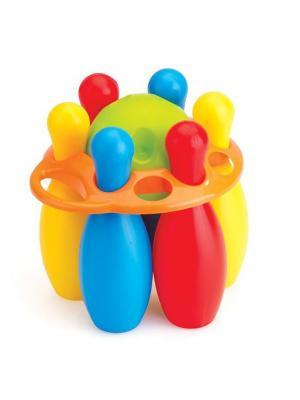 Набор боулинг из 6 кеглей и 1 шара Dolu.. Цвет: синий, желтый, красный